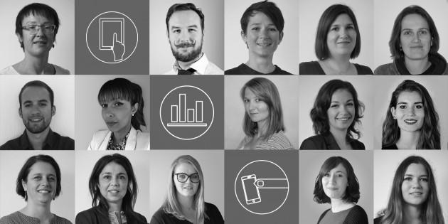 L'équipe de l'agence digitale Eficiens